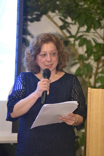Η κ. Π. Κωστοπέτρου, Αντιπρόεδρος του Ομίλου